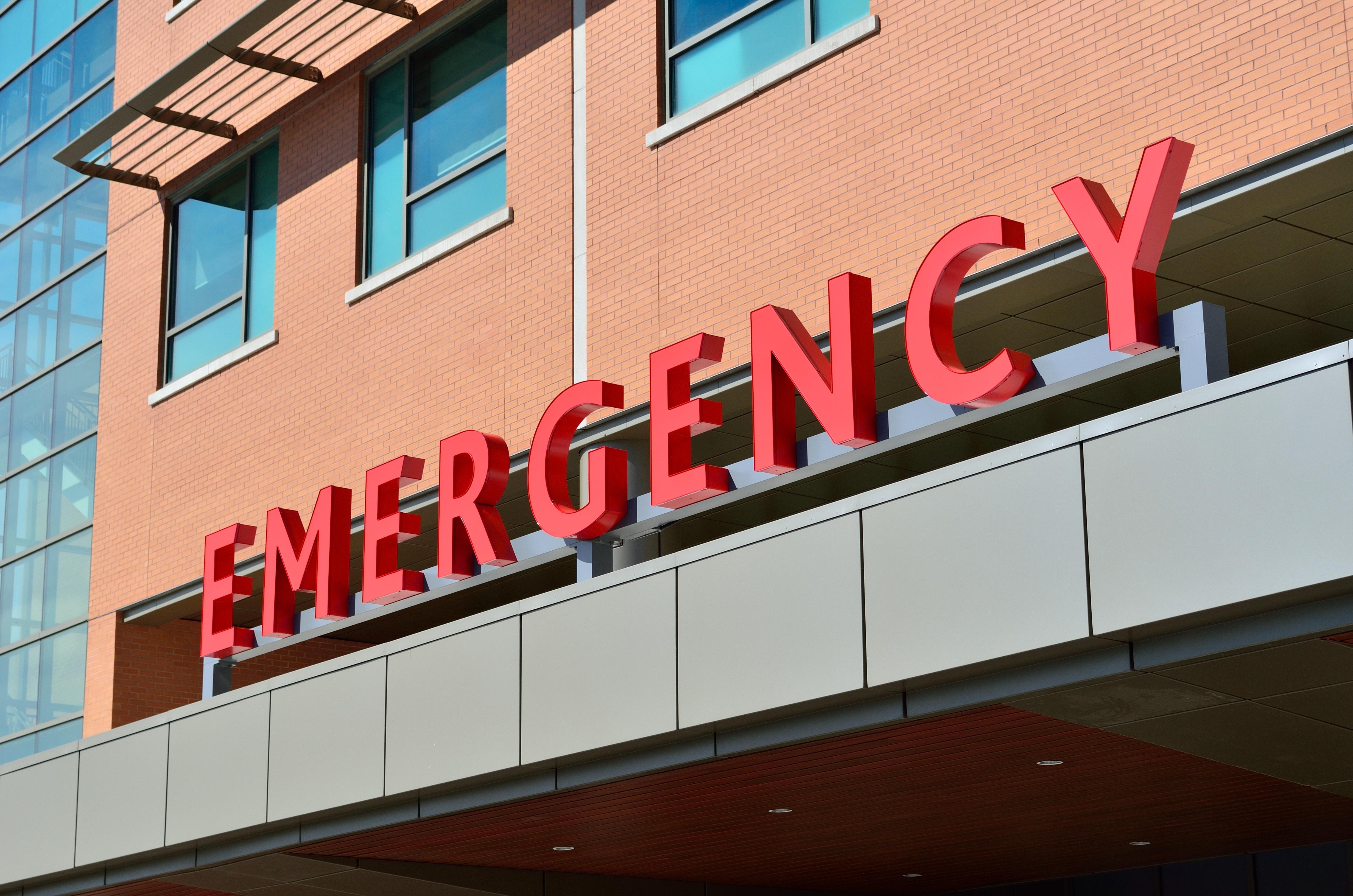 emergency area of hospital