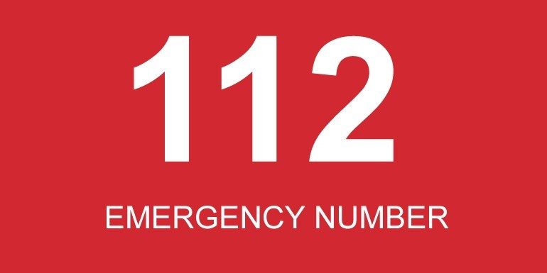 112 Emergency number-ZHL