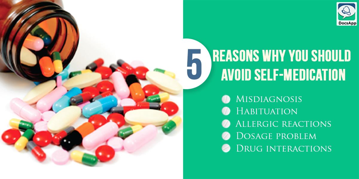 Avoid Self Medication