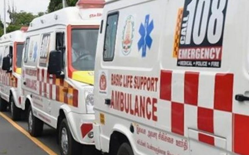 Free ambulance service to covid patients